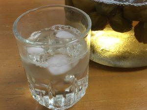 水で割った梅ジュース